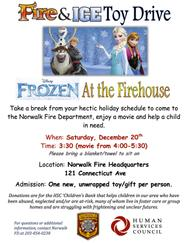 """Frozen at the Firehouse"" to Benefit Needy Children"