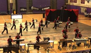 Westhill Winter Percussion Performance