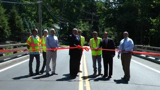 Riversville Road Bridge Has Reopened