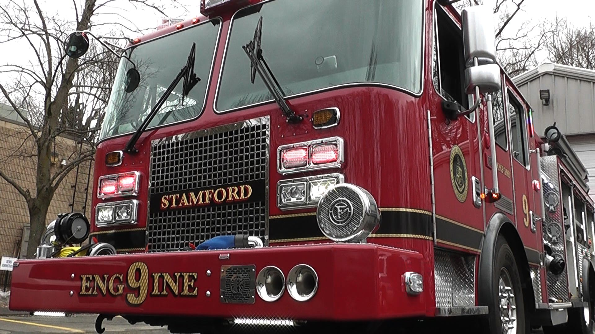 It's Relevant:  Stamford's New Fire Engine