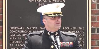 Lt. Col. Armas Addresses Norwalk