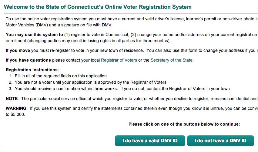 online voters registration system Online you can use the dmv electronic voter registration application to register to vote or to update the information you have on file with the new york state board of elections.