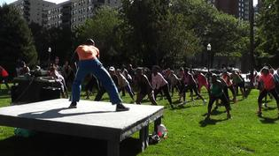 Stamford YMCA brings Zumba, Yoga to Latham Park