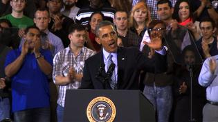 Obama Addresses Connecticut on Minimum Wage Increase