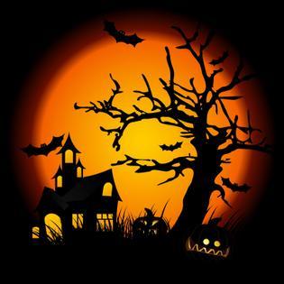 Westport Halloween Window Painting Contest CT