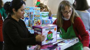 Person to Person's Toy Store Brings Out Over 400 Volunteers