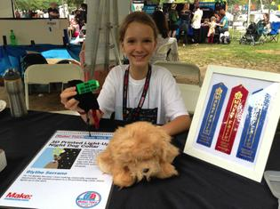 Young Norwalker Wins at World Makers Faire