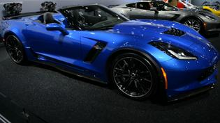 Chevrolet Introduces the 2015 Corvette Z06 Convertible