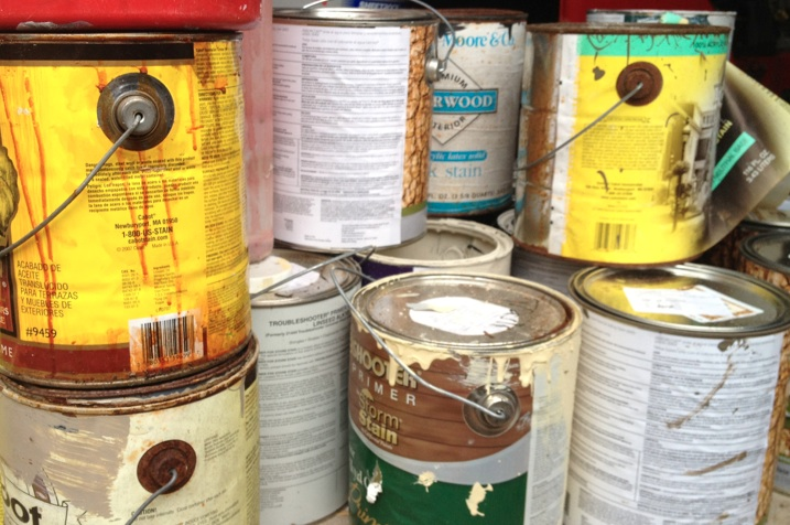 Hazardous waste disposal at norwalk high school norwalk for How to dispose of empty paint cans
