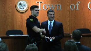 Greenwich Police Department Swears In Two New Officers