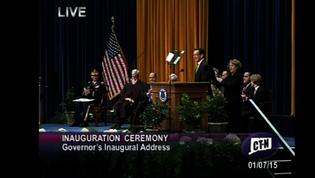 Governor Malloy Officially Inaugurated
