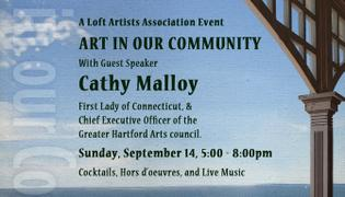 First Lady of Conn. to Speak at Loft Artists Association Event